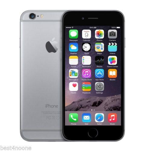 Apple Iphone 6 4G LTE Smartphone A1549 16GB IOS 9 Factory Unlocked GRAY Grade B+
