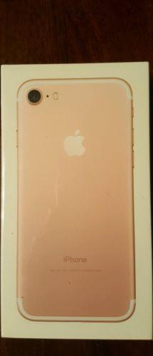  NEW  iPhone 7 32GB Sprint ONLY  Rose Gold
