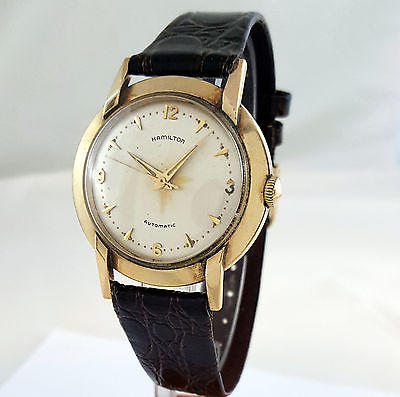 Hamilton K-375 Automatic Wrist Watch 1955