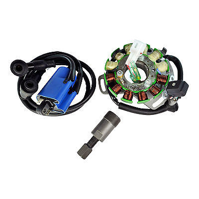 Stator 100 W + External Coil + Backplate + Puller For YFZ 350 Banshee 2006