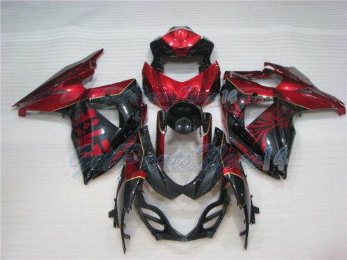 Fit for Suzuki GSXR 1000 K9 2009-2015 New ABS Fairing Plastic Injection mold a18