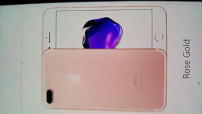 Apple Iphone 7 Plus 32gb Gold Silver Rose Gold Unlocked