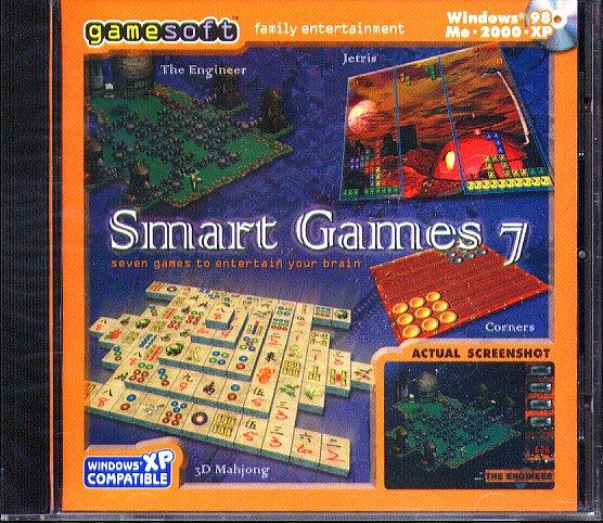 Smart Games 7 (PC-CD, 2004) for Windows 98/Me/2000/XP - NEW CD in SLEEVE