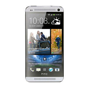 HTC One M7 - 32GB - Silver (Unlocked) Smartphone (Google Play Edition)