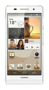 Huawei Ascend P6 - 8GB - White (Unlocked) Smartphone