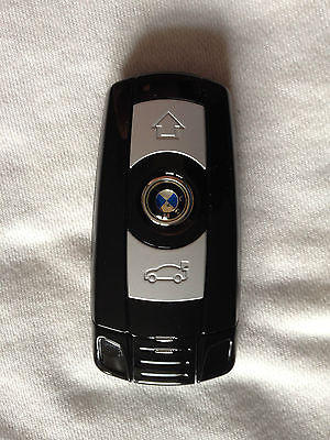 Double Sim BMW Logo Black Flip Phone with Torch, New In Box