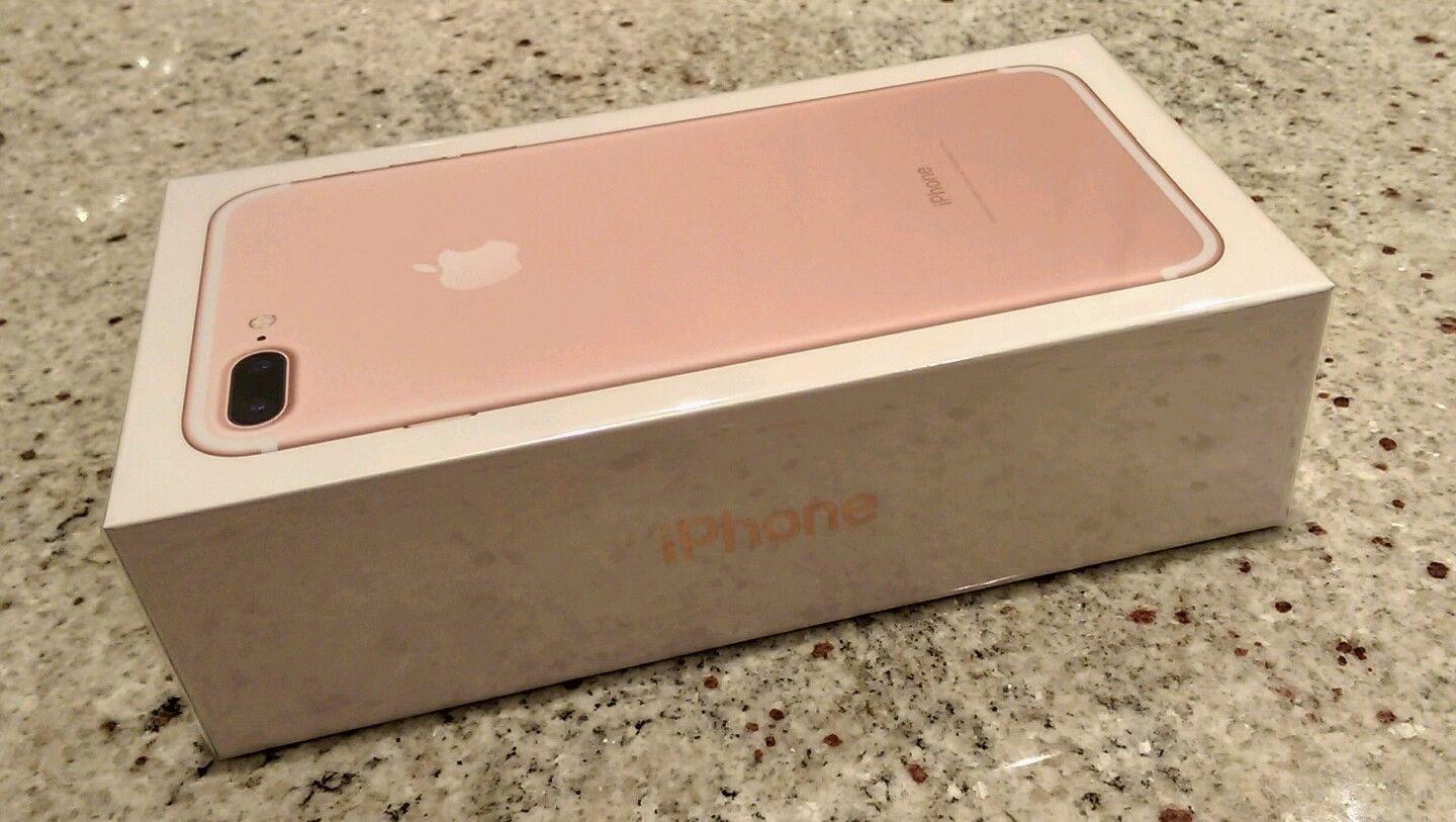 NEW APPLE iPHONE 7 PLUS 128GB ROSE GOLD UNLOCKED WORLDWIDE SHIPPING IN HAND !