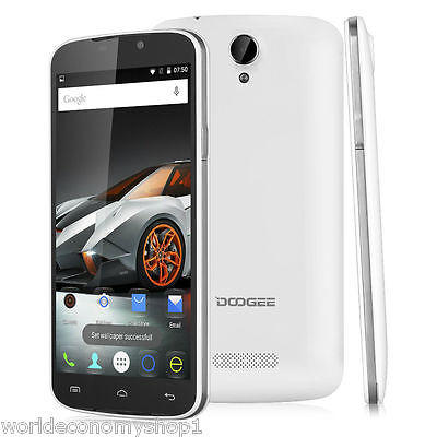 5,5 Pollici DOOGEE X6 Android 5.1 Quad Core 1.3GHz Smartphone Cellulare GPS WIFI