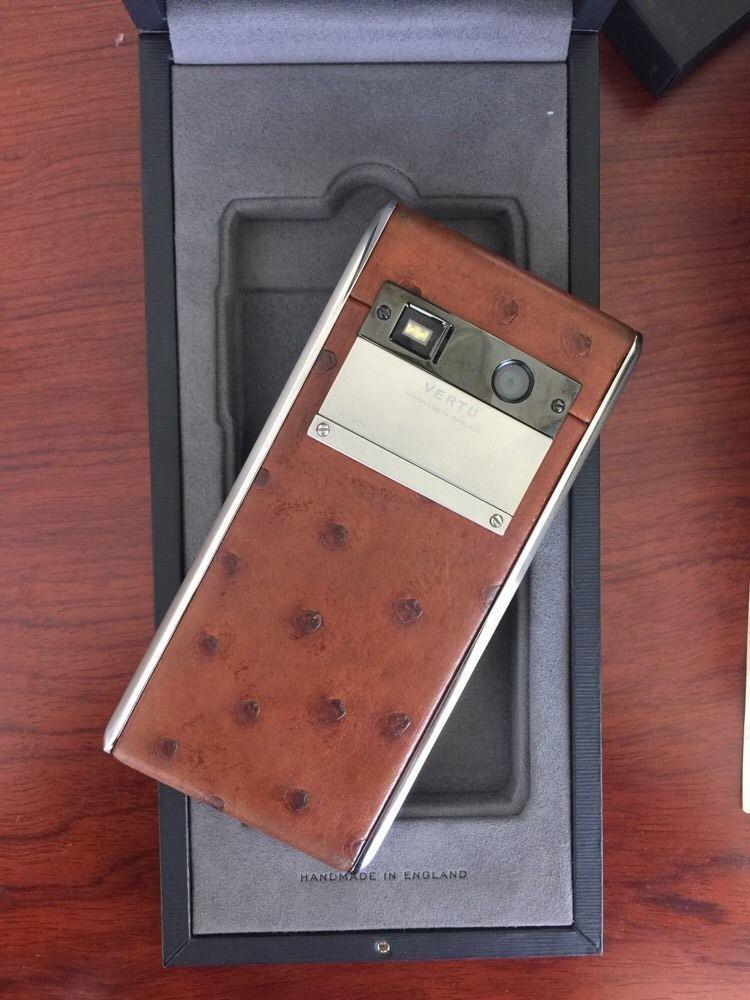 Genuine Vertu Aster Cognac - with 1 year warranty