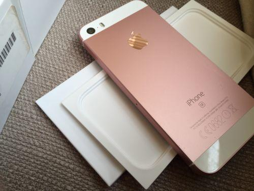 Apple iPhone SE 16GB Rose Gold SIM FREE New