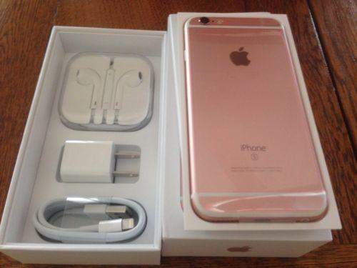 New Apple iPhone 6S Plus (Latest model) Unlocked 16GB Rose Gold Express Ship