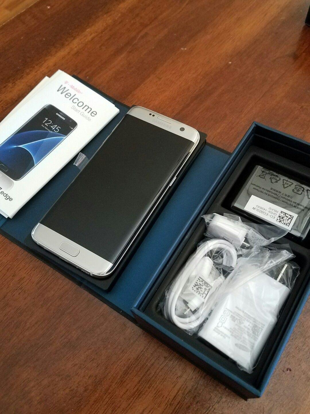 Samsung Galaxy S7 Edge Sm G935 32gb Silver Titanium Unlocked Smartphone Reviews Amp Rating